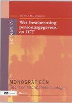 Monografieen Recht en Informatietechnologie 4 - Wet bescherming persoonsgegevens en ICT