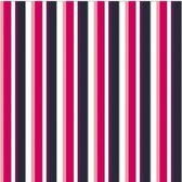 Jorzolino Theedoek Stripes Roze