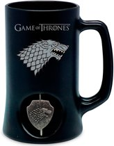 Game of Thrones: Stark Black Stein with Spinning Logo