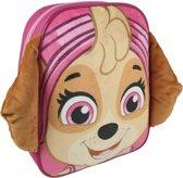 Roze Paw Patrol rugtas/rugzak Skye 23 x 28 cm voor meisjes - Schooltas/gymtasvoor kinderen
