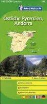 Michelin Zoomkarte Östliche Pyrenäen, Andorra 1 : 150 000