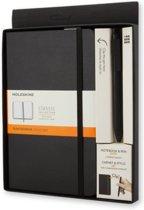 Moleskine Bundle Notebook Large Pen