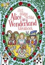 Het enige echte Alice in Wonderland kleurboek