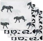 Jollein Leopard Hydrofiel luier Leopard 4(pack)