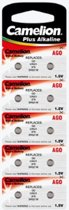 Knoopcel batterij 1.5V Lr521/Ag0 (10 St./Bl)