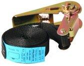 Spanband zwart 500x2,5 cm (750 kg)