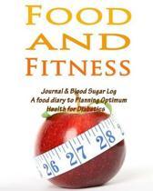 Food and Fitness Journal & Blood Sugar Log