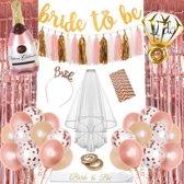 Bride to be versiering - Vrijgezellenfeest vrouwen - Latex en Folie Ballonnen Decoratie - Sjerp Accessoires - Party