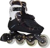 Powerslide Vi 84 Pure Inline Skate Dames Inlineskates - Maat 39 - Vrouwen - zwart/wit/goud