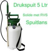 Drukspuit 5 Ltr RVS spuitlans