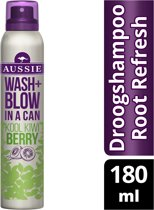 Aussie Wash + Blow Kool Kiwi Berry 180ml - Droogshampoo