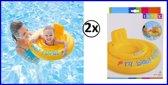 2x Opblaasbare Baby Float  6 tot 12 maanden