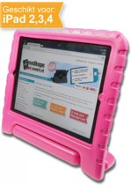 iPad Kinder Cover - Roze - voor de Apple iPad 2 / 3 / 4
