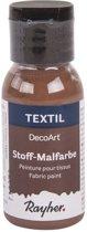 Bruine textielverf flacon 34 ml