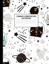 Primary Composition Notebook: Handwriting Practice Book for Kids Grades K-2 - Cool Preschool, Kinder, 1st and 2nd Grade Writing Journal School Exerc
