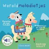 Boek cover Geluidenboekjes - Wereldmelodietjes van Marion Billet (Hardcover)