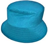Dameshoed bol turquoise