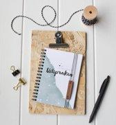 Kaartjelief Uitsprakenboekje A6 | Invulboek