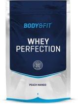 Body & Fit Whey Perfection - Eiwitpoeder / Eiwitshake - 750 gram - Peach mango milkshake