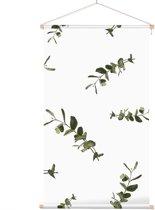Textielposter Botanisch Bladpatroon 7 - 40 x 70 cm