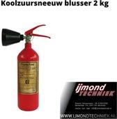 Flameline koolzuursneeuw blustoestel 2 kg