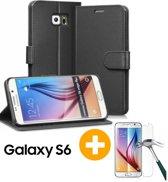 Samsung Galaxy S6 Portemonnee Hoesje Case Zwart