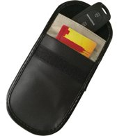 KELERINO. Autosleutel RFID Beschermhoes - Leder - Anti Diefstal