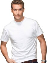 30 pack witte shirts Fruit of the Loom ronde hals 160 gsm  Valueweight M
