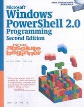 Boekomslag van 'Microsoft® Windows PowerShell 2.0 Programming for the Absolute Beginner'