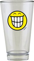 Zak!Designs Smiley Glas - 30 cl - Emoticon Teeth - Geel