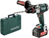 Metabo SB 18LTX Impuls 18V Li-Ion (klop)boor-/schroefmachine set incl. 2x 4.0Ah accu en lader