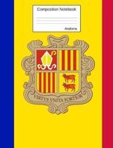 Andorra Composition Notebook