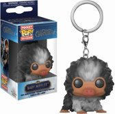Pocket Pop Keychain: Fantastic Beasts 2 - Black White Baby Niffler