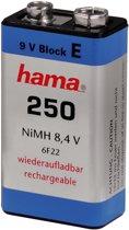 Hama HAMA 9V NH E-BLOCK 250MAH