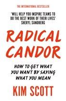 Boek cover Radical Candor van Kim Scott (Paperback)