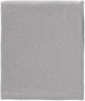 Cottonbaby Wiegdeken diamantwafel grijs