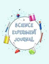 Science Experiment Journal: Scientific Project Journal, Lab Tracker and Record Book