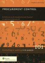 Controlling & auditing in de praktijk 101 - Procurement control