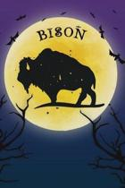 Bison Notebook Halloween Journal