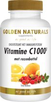 Golden Naturals Vitamine C1000 Rozenbottel (60 tabletten)