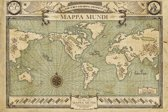 Poster Fantastic Beasts-map- (61x91.5cm)