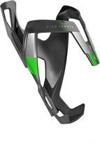 Elite Vico Bidonhouder carbon groen/zwart