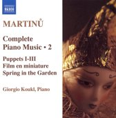 Martinu: Piano Music Vol. 2