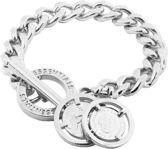 TOV Essentials Small Flat Chain Bracelet - Armband - Zilverkleurig - 21 cm