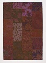 Chester vloerkleed - Framboos - 200x200 cm