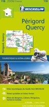 Quercy perigord 11118 carte michelin kaart