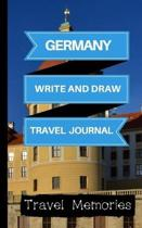 Germany Write and Draw Travel Journal
