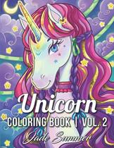 Unicorn Coloring Book 2 - Jade Summer