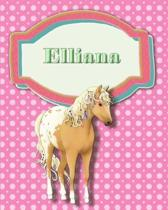 Handwriting and Illustration Story Paper 120 Pages Elliana