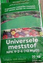 Bioflor universele meststof 9-2-6 20kg